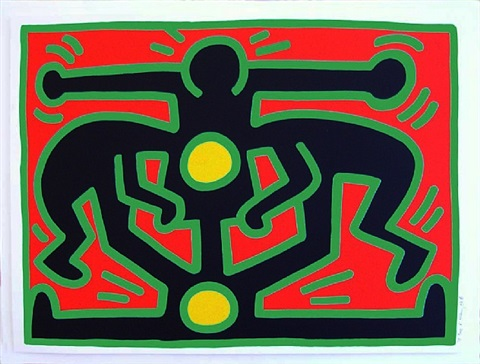growing iii by keith haring