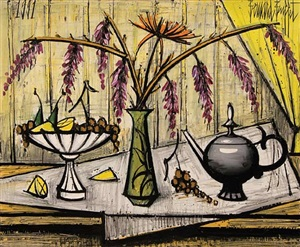 still life by bernard buffet