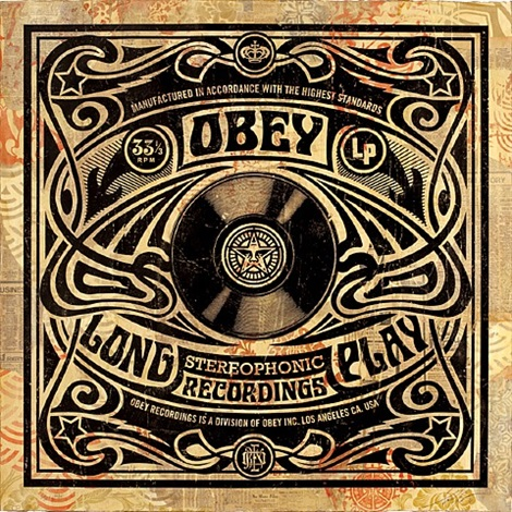 nouveau (from revolutions: the album cover art of shepard fairey) by shepard fairey