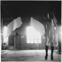 from angel series, rome, 1977 (1.7) by francesca woodman
