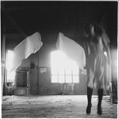 from angel series rome 1977 17 by francesca woodman