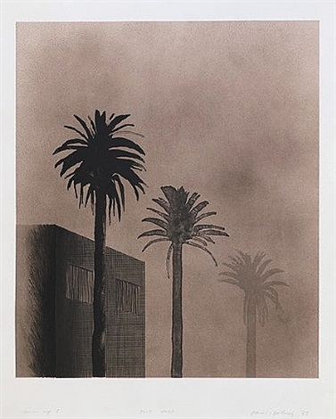 the weather series: dark mist by david hockney