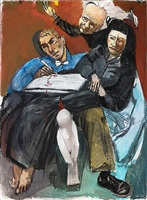 the psychiatrist by paula rego