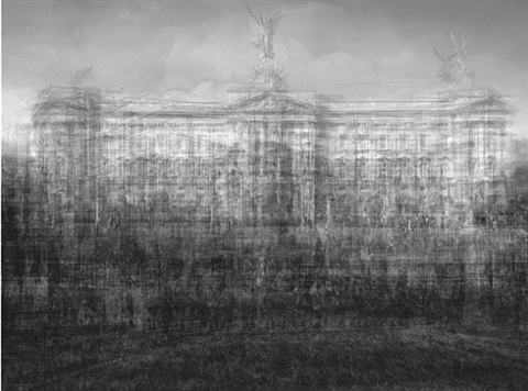 buckingham palace, london by idris khan
