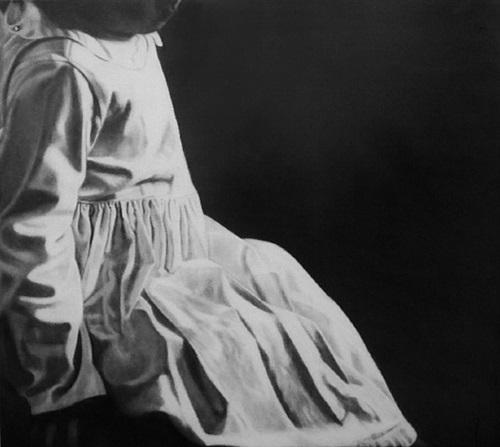 white dress by sarah leahy