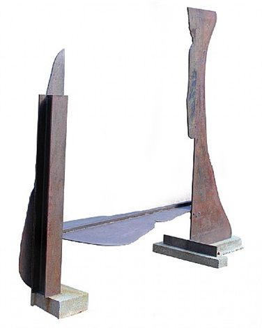 veduggio flat, 1972/73 by anthony caro