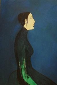 woman sitting by chiu ya-tsai
