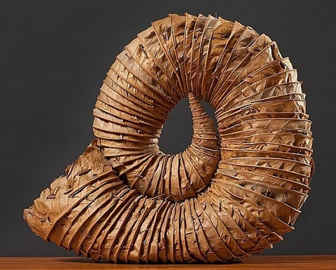 leaf horn by andy goldsworthy