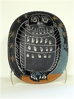 mat owl by pablo picasso
