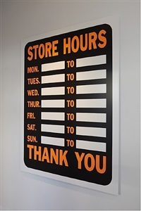 store hours by peter liversidge