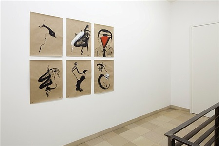 installation view: auf papier 2012