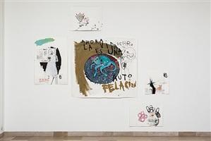 installation view: auf papier 2012, works by marcelo viquez
