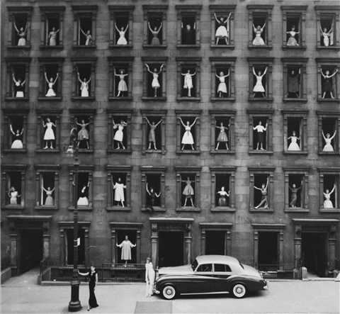 girls in the windows new york city by ormond gigli