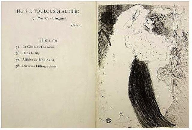 danse excentrique by henri de toulouse-lautrec