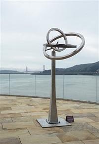 ripples 7' kinetic sculpture by jeffery laudenslager