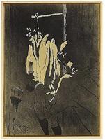 le pendu (deuxieme planche) by henri de toulouse-lautrec
