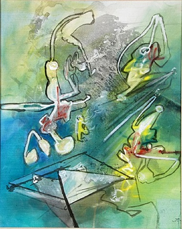 like lightness by roberto matta