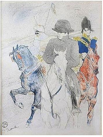napoleon by henri de toulouse-lautrec