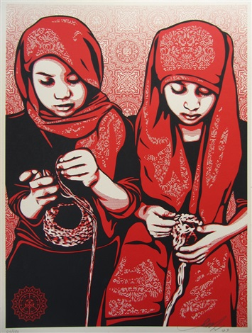 close knit by shepard fairey