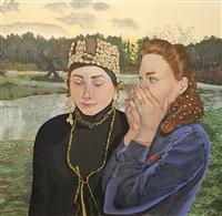 im frühling by anna afanasjeva