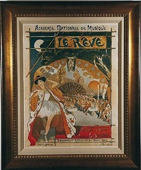 academie national de misique - le reve by théophile alexandre steinlen