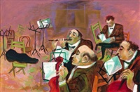 four musicians by william gropper