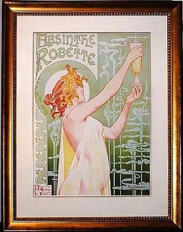 absinthe robette by henri pivat-livemont