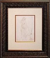 femme by théophile alexandre steinlen