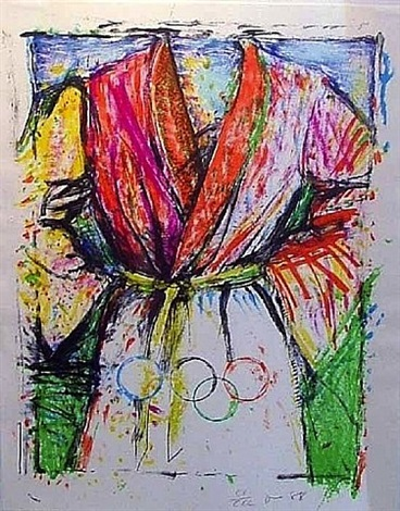 olympic robe by jim dine