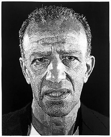 alex/ reduction print (single) by chuck close