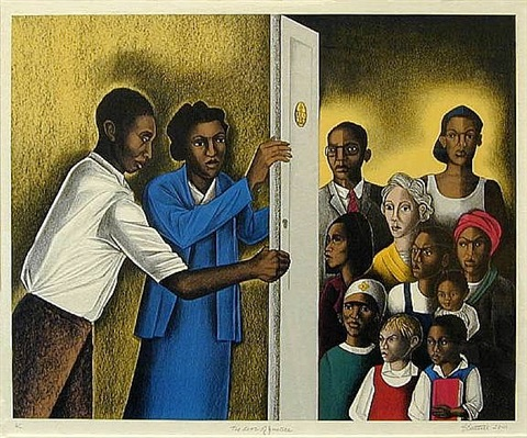 door of justice by elizabeth catlett