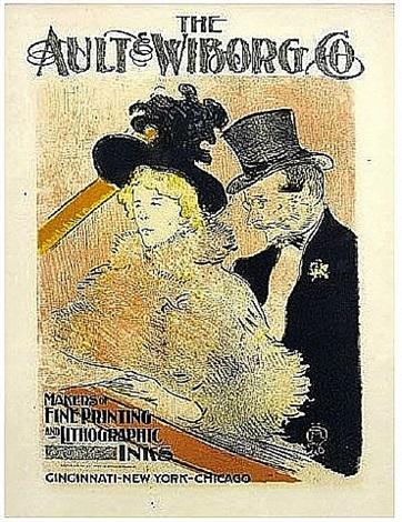 au concert (ault & wiborg co.) by henri de toulouse-lautrec