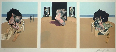 triptych 1974-1977 by francis bacon