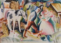 the family by béla kádár