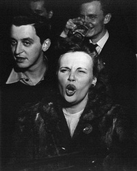 at a bar by weegee