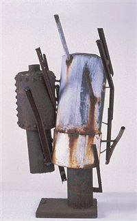 two tank figures (1963-1) by richard stankiewicz