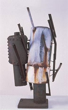 two tank figures (1963-1) by richard stankiewicz