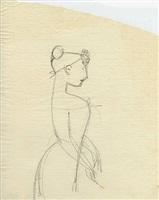 female figure (en-122) by elie nadelman