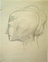 head study (en-105) by elie nadelman