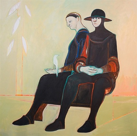 two figures by selina trieff