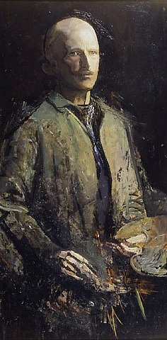 self-portrait by abbott handerson thayer