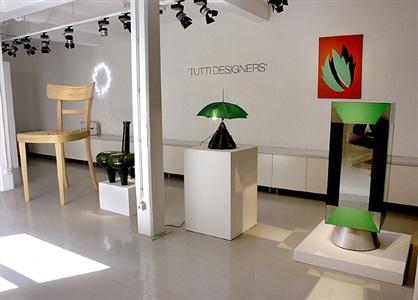 exhibition view <br>tutti designers