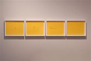reflex (amarillo), cuadríptico by marco maggi