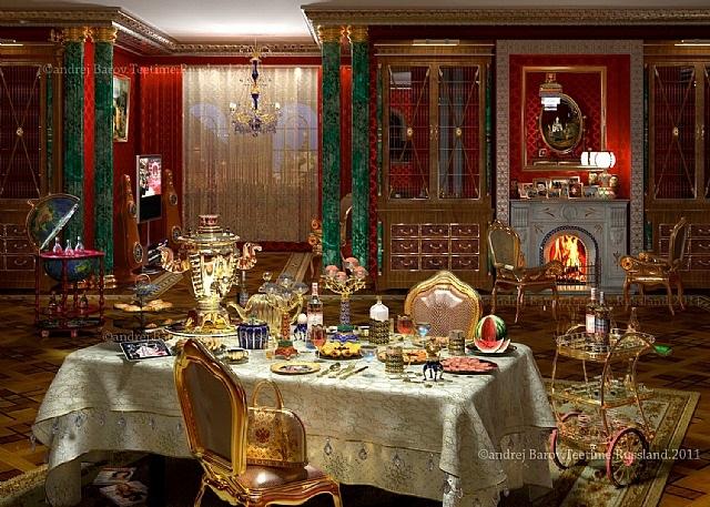 teatime.russland ansicht 1 by andrej barov