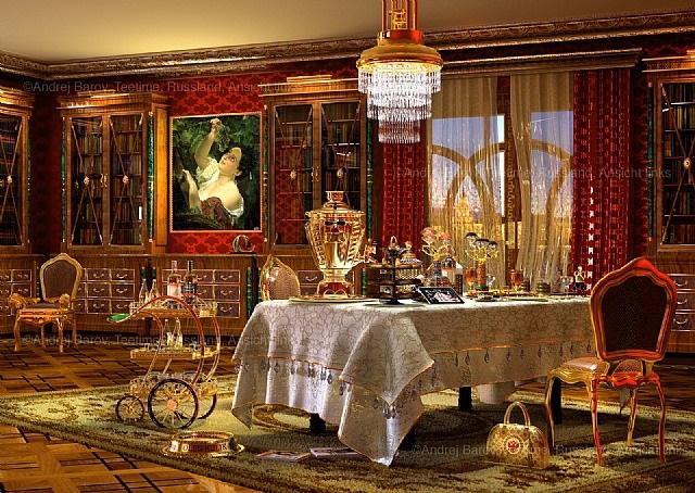 teatime.russland ansicht 2 by andrej barov