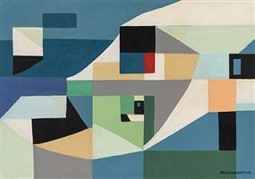 abstraction (nt-em-52/01) by nina tryggvadottir