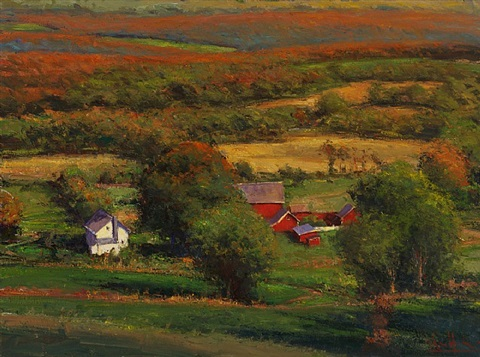 october light by george van hook