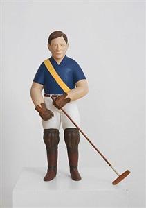 polo player by john cross