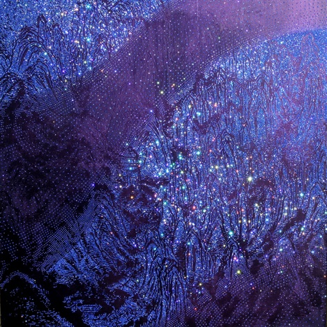 artificial landscape sapphired sapphire by kim jongsook
