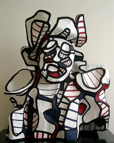le pirate by jean dubuffet